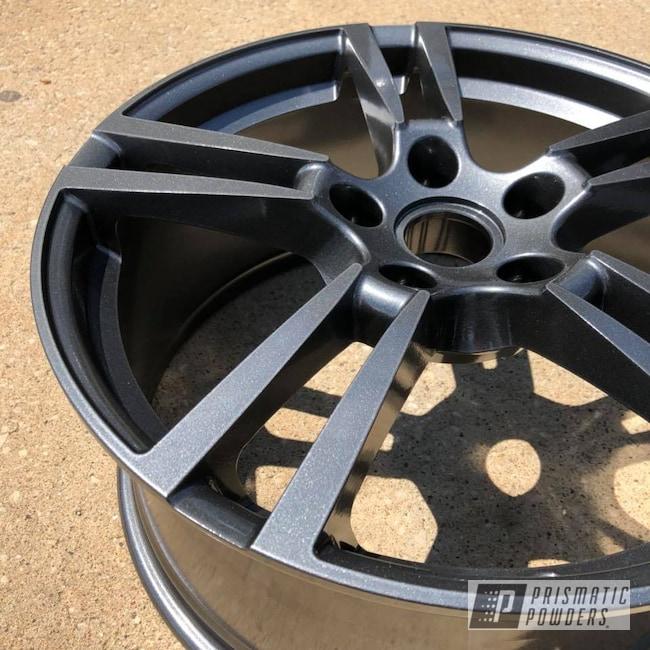 Powder Coating: Wheels,Automotive,Porsche,Cadillac Grey PMB-6377