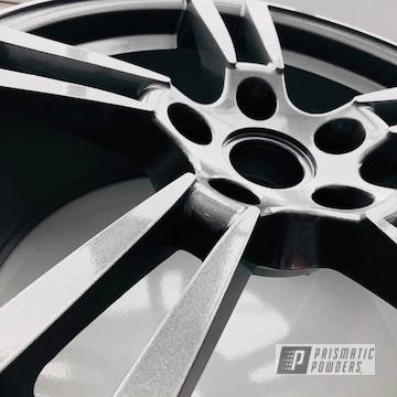 Powder Coated Porsche 22 Inch Wheels In Cadillac Grey
