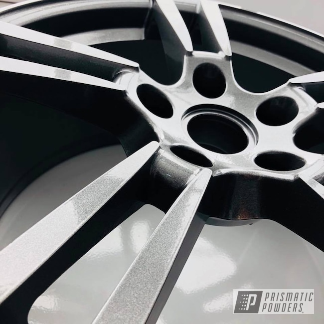 Powder Coating: Wheels,Automotive,Wheel,Porsche,Cadillac Grey PMB-6377