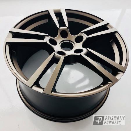 Powder Coating: Wheels,Automotive,22'',Porsche,Anodized Bronze II PMB-2808