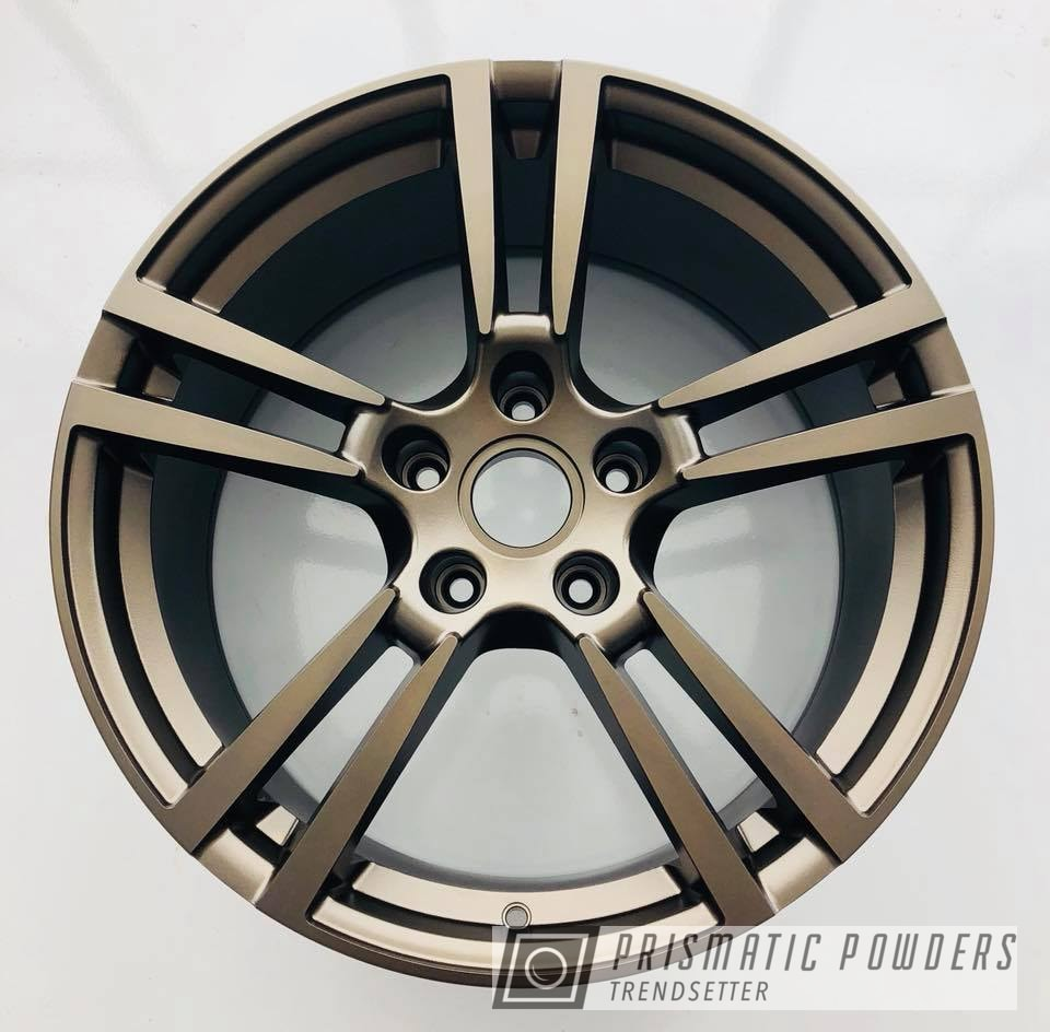 Powder Coating: Wheels,Automotive,wheel,22'',Porsche,Anodized Bronze II PMB-2808