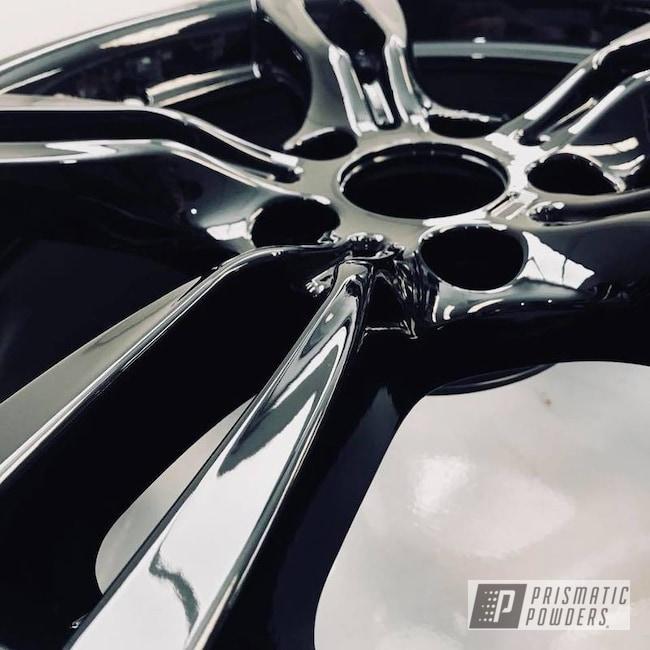 Powder Coating: Wheels,Automotive,Wheel,BMW Wheels,Black,Ink Black PSS-0106,BMW,BMW Rims