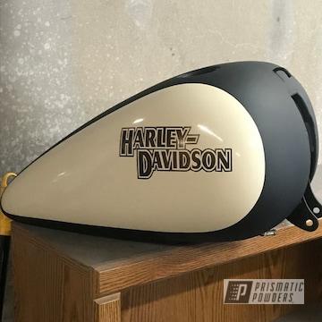 Custom Powder Coated Harley Davidson Fuel Tank