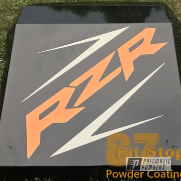 Powder Coated Polaris Rzr Part