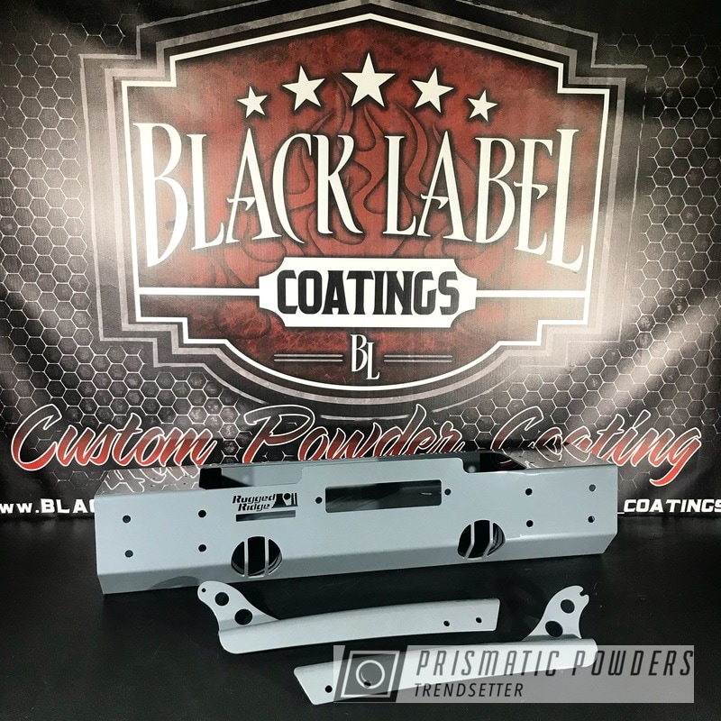 Powder Coating: Automotive,RAL 7011 RAL-7011,Bumper,Rugged Ridge