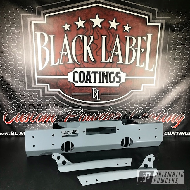 Powder Coating: Automotive,Bumper,RAL 7011 Iron Grey,Rugged Ridge