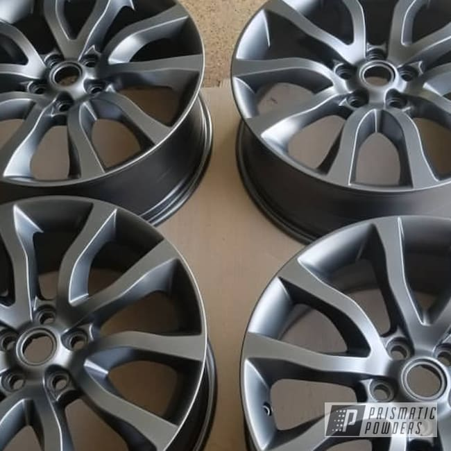 Powder Coating: Wheels,Automotive,Powder Coat,Evo Grey PMB-5969,evo grey