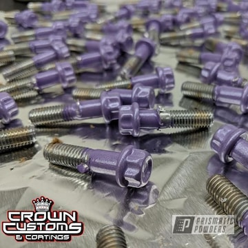 3 Piece Hardware Done In Cosmic Lilac