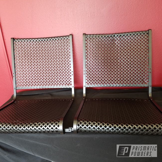 Powder Coating: Patio Furniture,Lawn Chairs,Sterling Black UMB-1204,Furniture