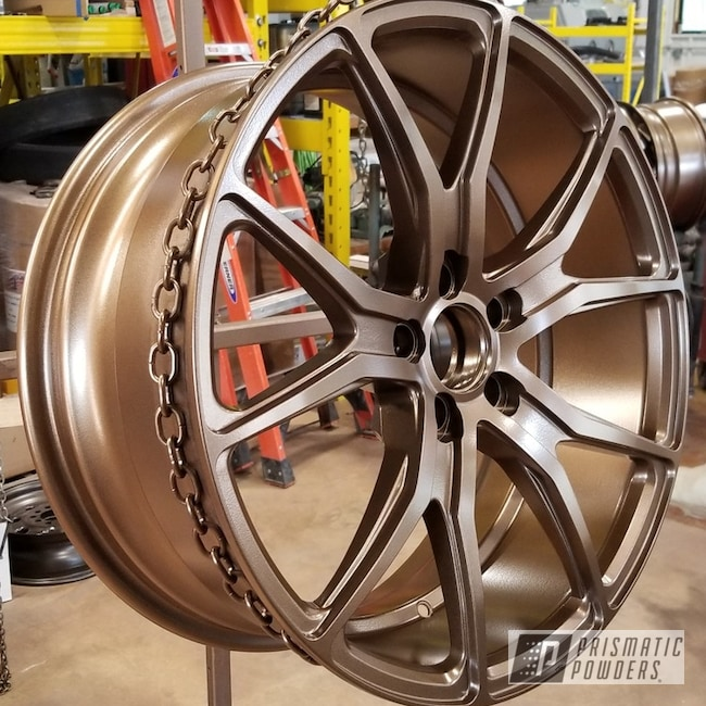 Powder Coating: Wheels,Automotive,Highland Bronze PMB-5860