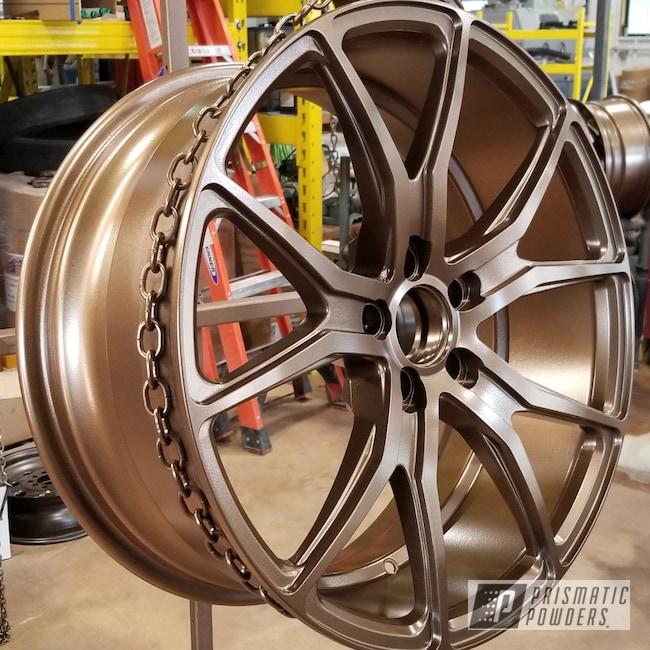 Powder Coating: Wheels,Automotive,Highland Bronze PMB-5860