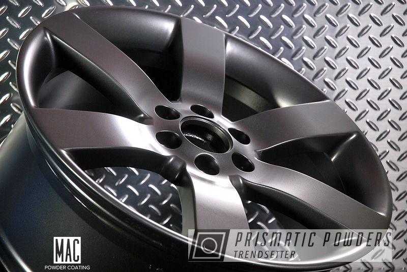 "Powder Coating: Wheels,Automotive,Harley Davidson,Evo Grey PMB-5969,Powder Coated 20"" Wheels,Trailer Hitch Cover,Emblem"