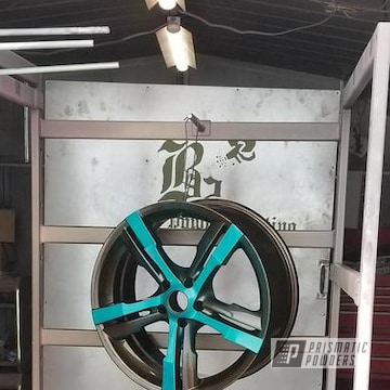 Powder Coated Nissan Rims
