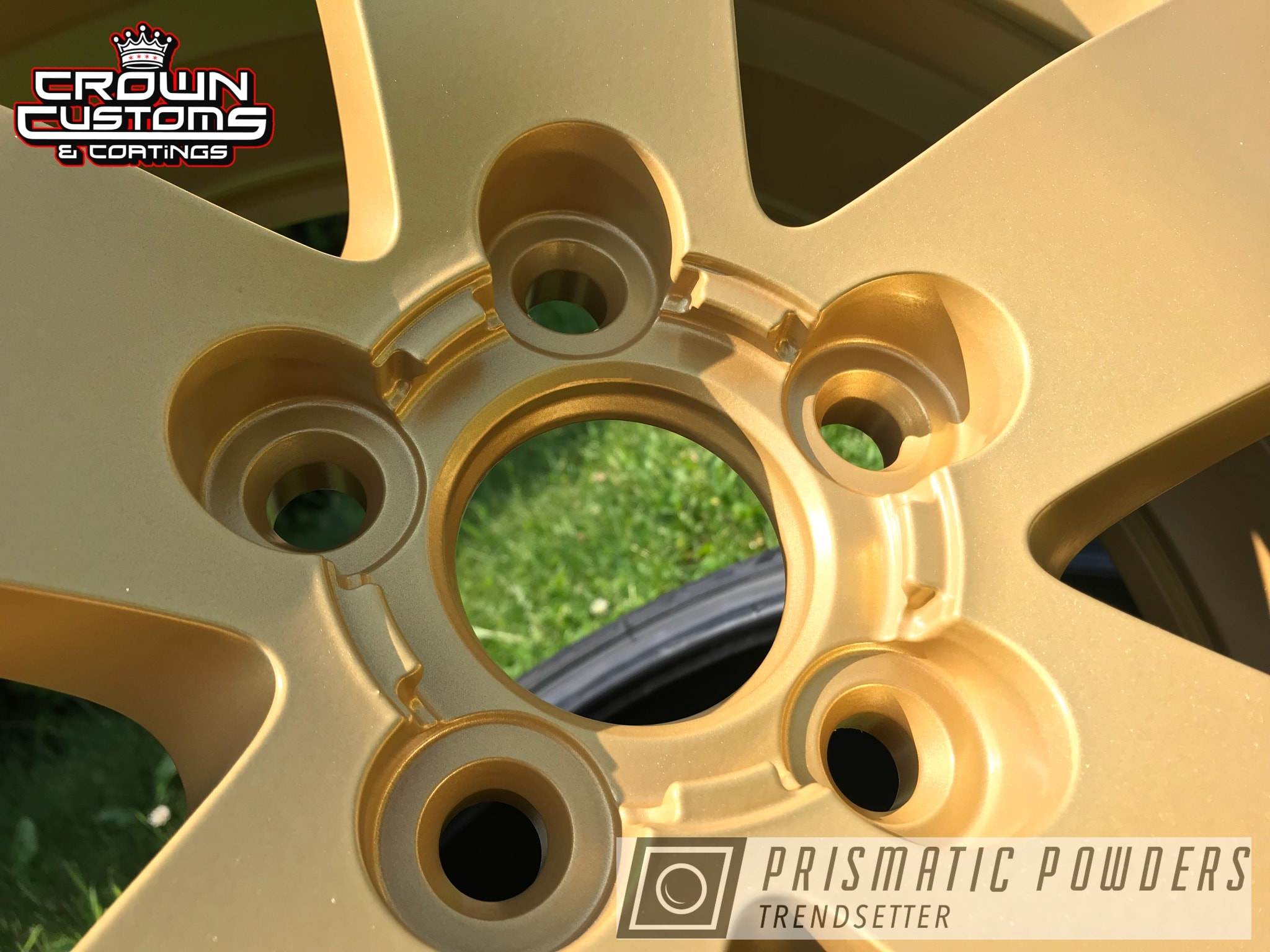 Powder Coating: Wheels,Goldtastic PMB-6625,Automotive,G8 GT,Pontiac