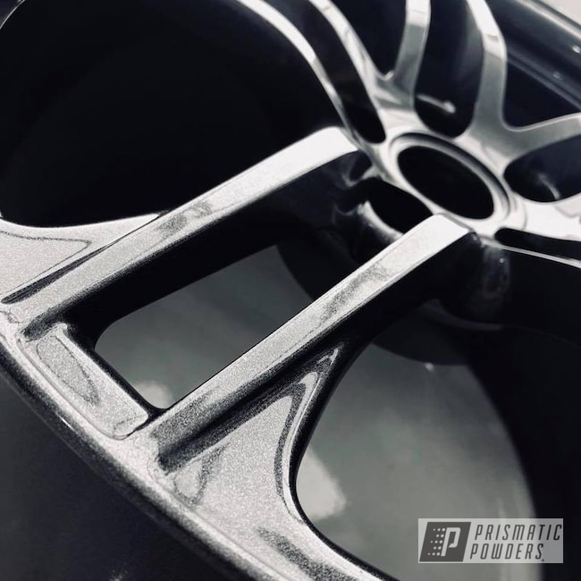 Powder Coating: Wheels,Custom,Silver,Automotive,Audi,Gunmetal,R8,Grey,Cadillac Grey PMB-6377
