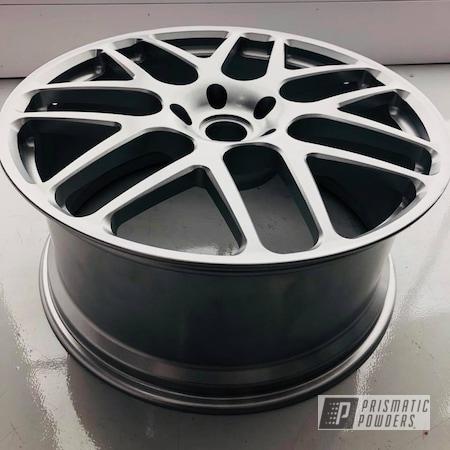 Powder Coating: Wheels,Silver,Automotive,Cayenne,Porsche,HRE,Alien Silver PMS-2569