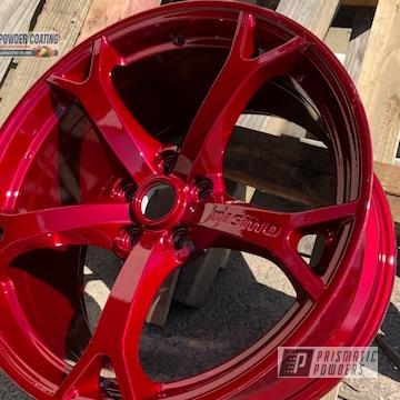 Powder Coated Nissan Zcar Wheels