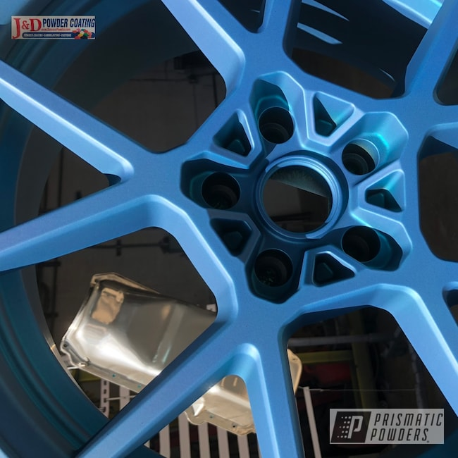 Powder Coating: Wheels,Automotive,SUPER CHROME USS-4482,BMW Wheels,Custom BMW Wheels,Rims,BMW,PPB 780 PORT BLUE PPB-780,5Series,Casper Clear PPS-4005,Rotiform