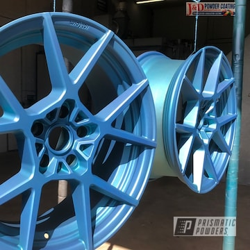 Powder Coated Bmw 5series Wheels Rims