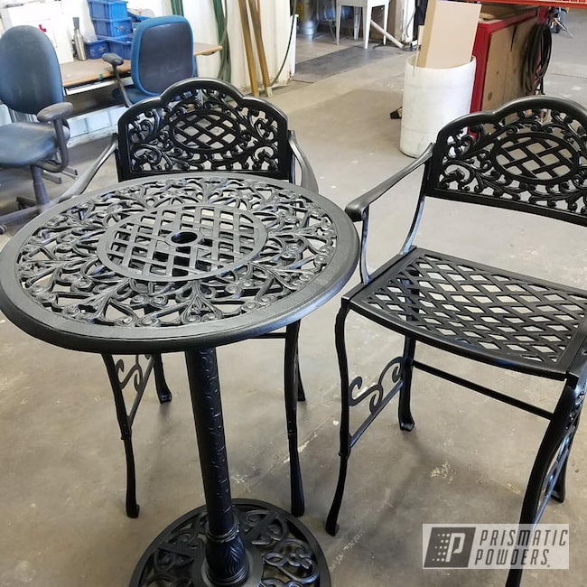 Powder Coating: Chairs,BLACK JACK USS-1522,Patio Furniture,Table,Furniture