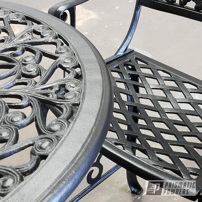Powder Coating: Chairs,BLACK JACK USS-1522,Patio Furniture,Table,Furniture