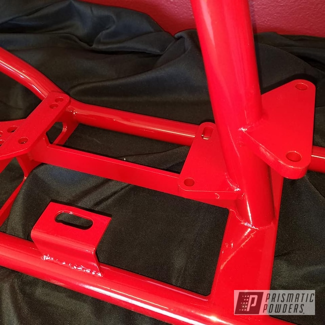 Powder Coating: Harley Davidson,Motorcycles,Frame,Astatic Red PSS-1738