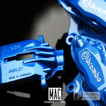Powder Coated Brembo Brakecalipers