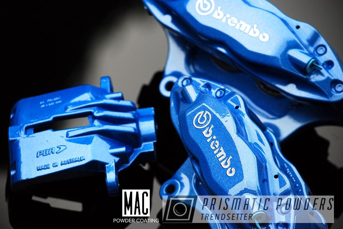Powder Coating: Automotive,Calipers,Clear Vision PPS-2974,Brembo Calipers,Brembo,Brembo Brakes,Brembo Brake Calipers,brakecalipers,Illusion Smurf PMB-6909,Custom Brake Calipers