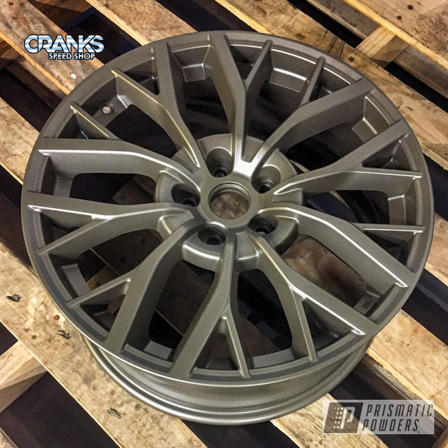 Powder Coating: Wheels,Auto Parts,Automotive,STI,Subaru,Eldorado Bronze PMB-5373,2018 STI Custom Wheel Color