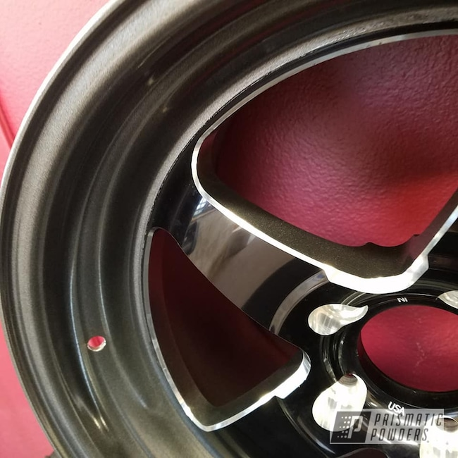 Powder Coating: Wheels,Automotive,Kingsport Grey PMB-5027,Forged Weld Racing Wheels,WELD Wheels
