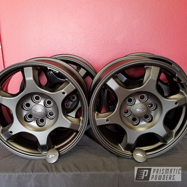 Powder Coating: Wheels,Automotive,BLACK JACK USS-1522,Ford