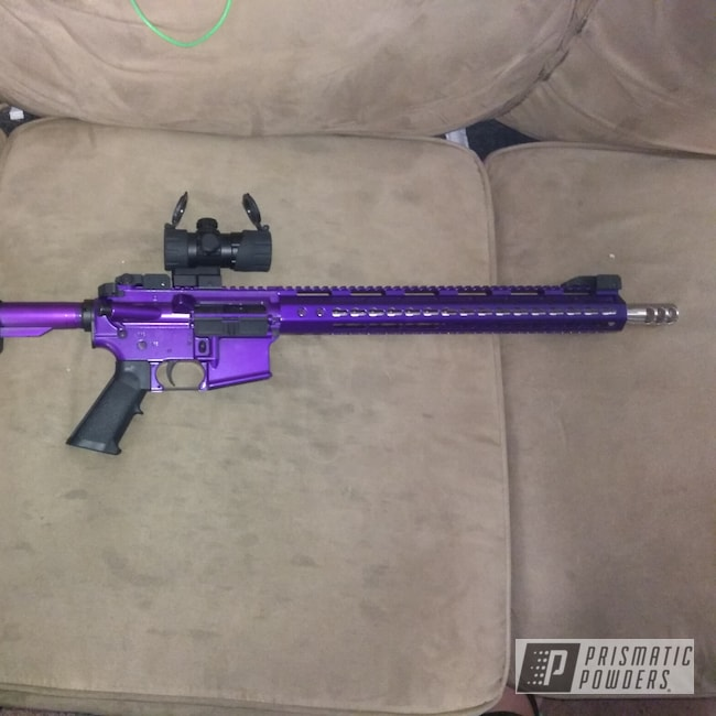 Powder Coating: Illusion Purple PSB-4629,Custom,NOT a Prismatic Clear,AR-15,Miscellaneous