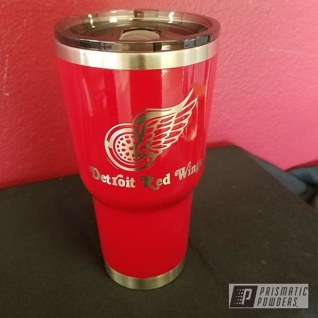 Powder Coating: Tumbler,Drinkware,RAL 3002 RAL-3002,Custom Cup