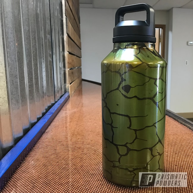 Powder Coating: Glow in the Dark Top Coat,Tumbler,Transparent Copper PPS-5162,BLACK JACK USS-1522,Bio-hazard,64oz Tumbler,Glow in the Dark,Custom Cup,YETI,Golden Apple II PPB-4705,Glowbee Clear PPB-4617