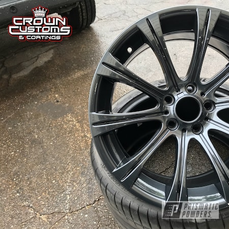 Powder Coating: Wheels,Automotive,Clear Vision PPS-2974,BMW Wheels,BMW,BMW M5 Wheels,Lazer Diamond PMB-4156,Metallic Powder Coating