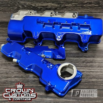 Auto Parts In Intense Blue And Alien Silver
