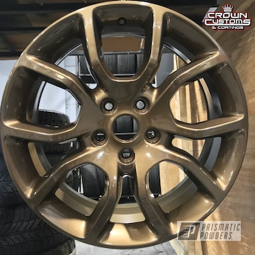 Dodge Durango R/t Wheels In Clear Vision Bronze Chrome And Highland Bronze