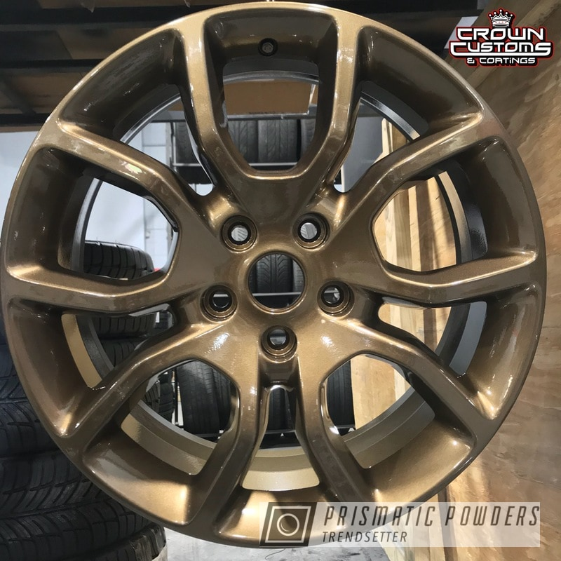 Powder Coating: Wheels,Auto Parts,Automotive,Clear Vision PPS-2974,Bronze Chrome PMB-4124,Dodge,Custom Powder Coated Wheels,Highland Bronze PMB-5860