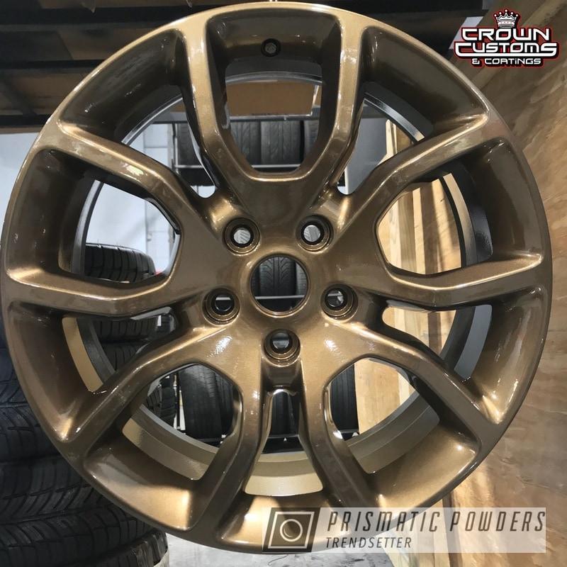 Powder Coating: Wheels,Auto Parts,Automotive,Clear Vision PPS-2974,Bronze Chrome PMB-4124,Dodge,Custom Powder Coated Wheels,Highland Bronze PMB-5860
