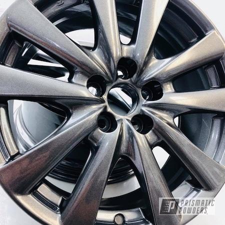 Powder Coating: Wheels,Automotive,Custom Automotive,Lexus,Kingsport Grey PMB-5027,Grey,GS 350