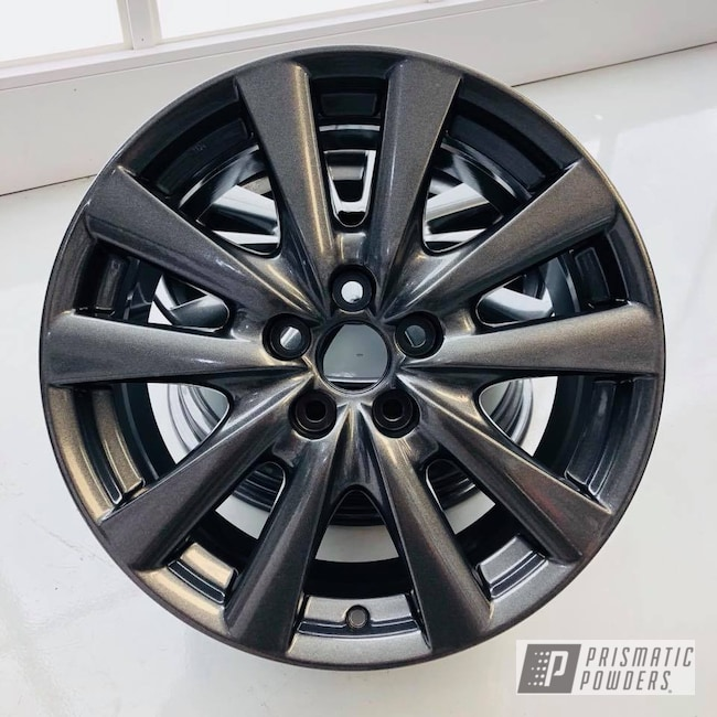 Powder Coating: Wheels,Automotive,Custom Automotive,Lexus,Wheel,Kingsport Grey PMB-5027,Grey,GS 350
