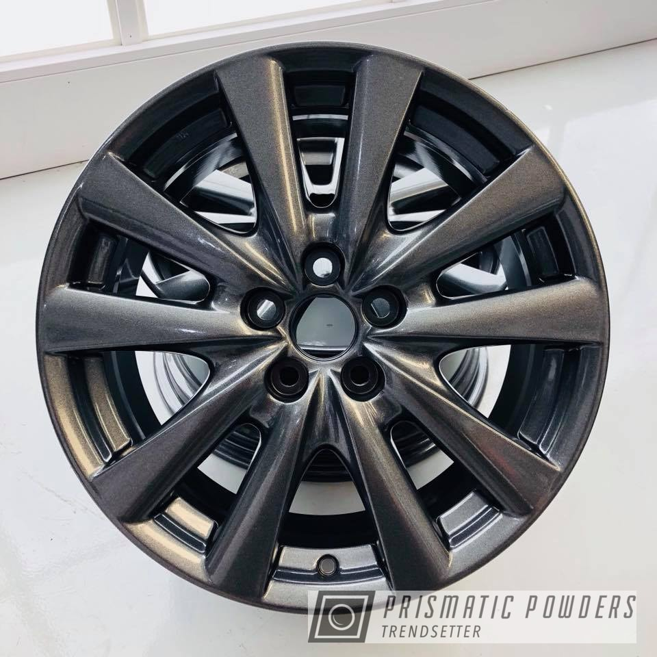 Powder Coating: Wheels,Automotive,Custom Automotive,wheel,Lexus,Kingsport Grey PMB-5027,GS 350,grey