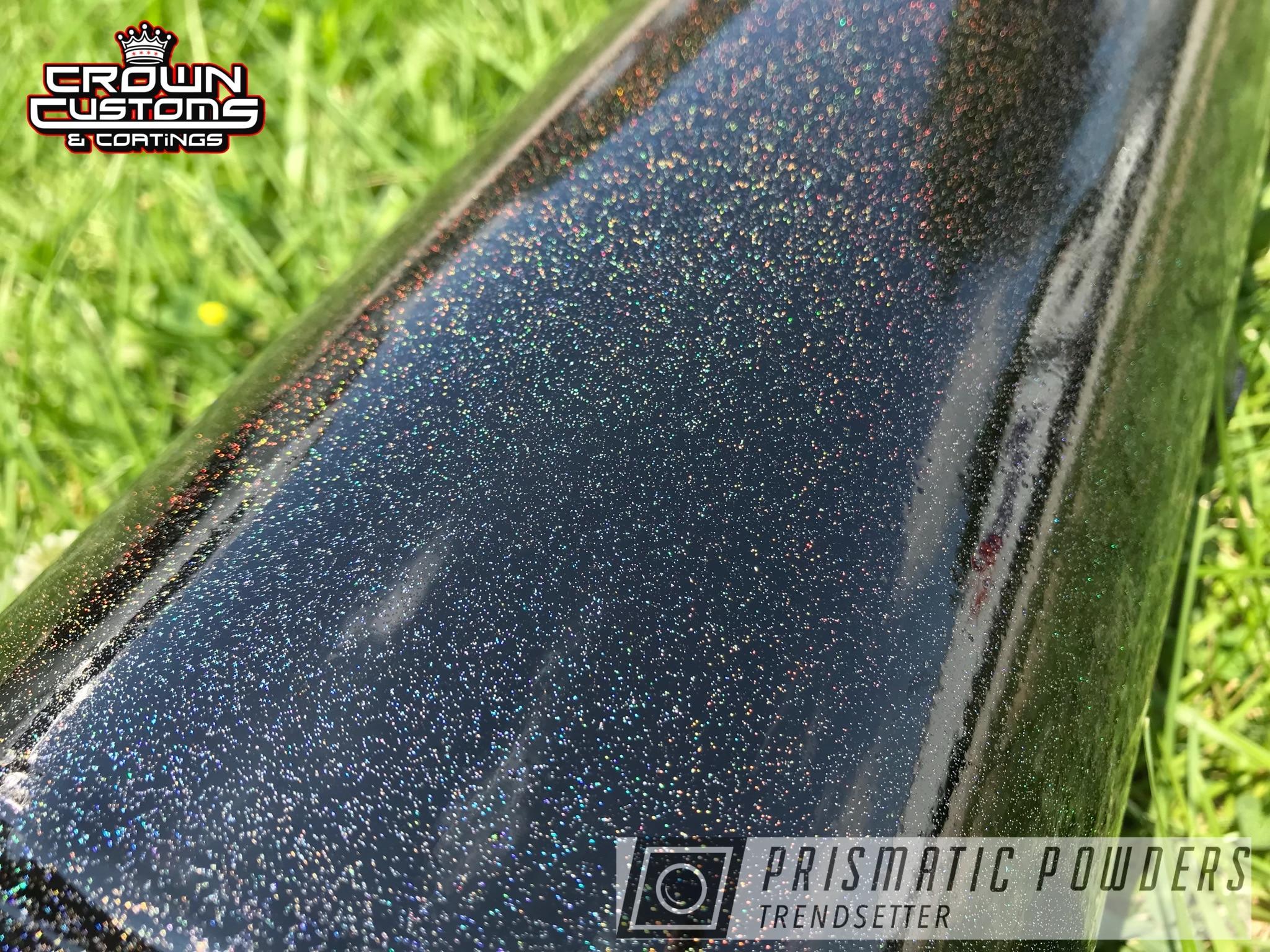 Powder Coating: Automotive,Air Ride Tank,Air Suspension,Air Ride,Air Suspension Tank,Metallic Powder Coating,Rainbow's End PMB-2691