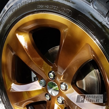 Powder Coated Wheels In Super Chrome And Monaco Copper