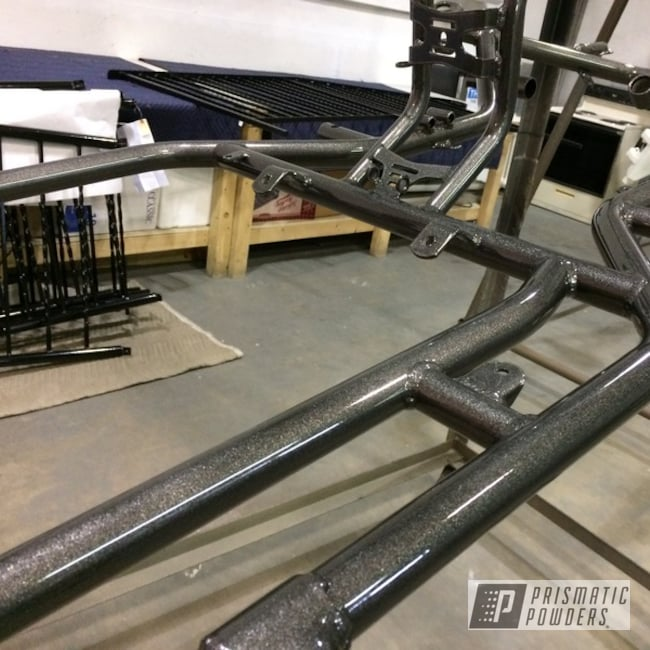 Powder Coating: ATV,Kingsport Grey PMB-5027,GoCart,Frame