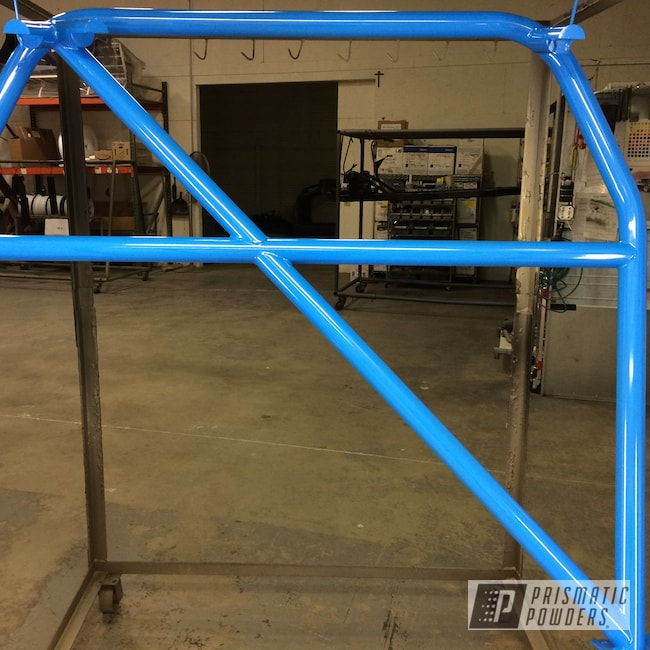 Powder Coating: Automotive,Roll Cage,Playboy Blue PSS-1715