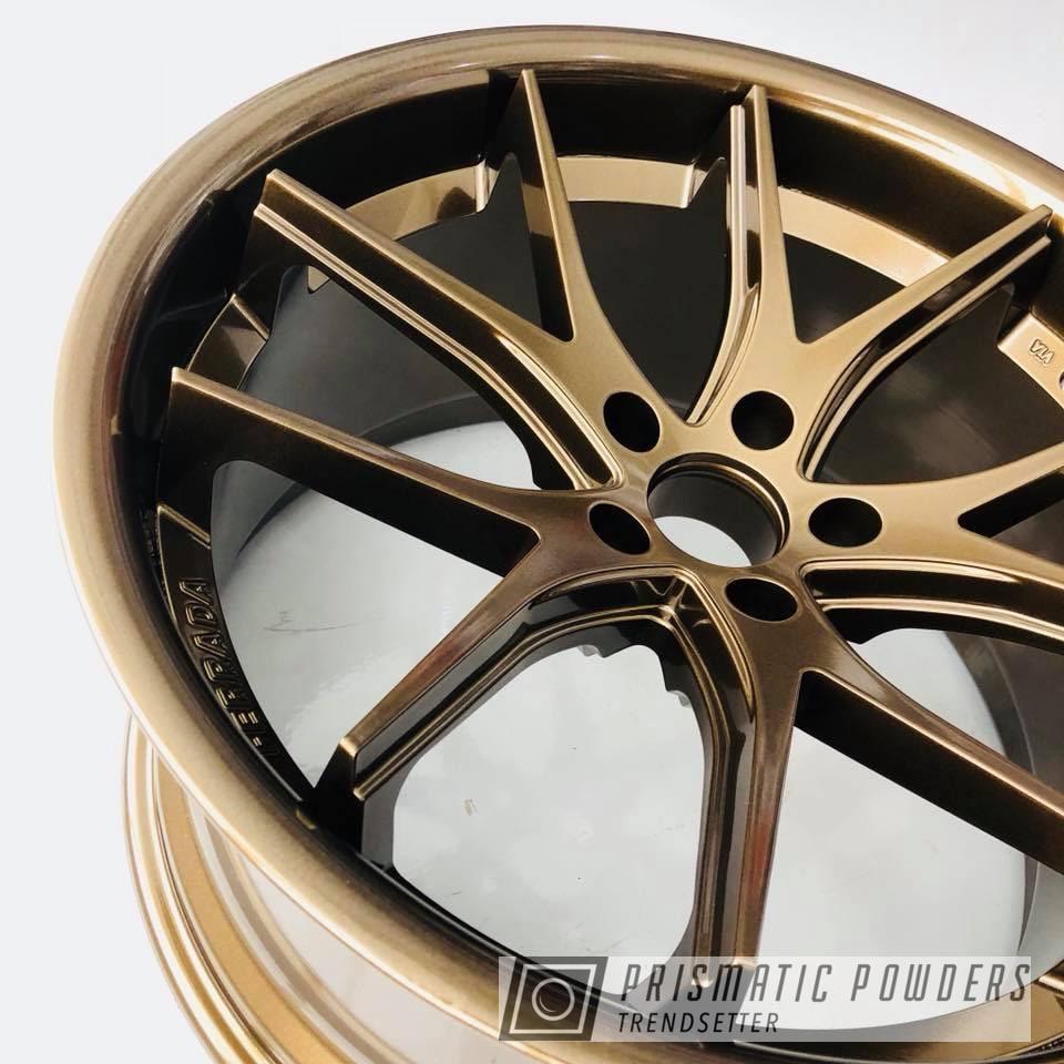 Powder Coating: Wheels,Ferrada,Automotive,chrome,Bronze Chrome PMB-4124,bronze,Metallic Powder Coating