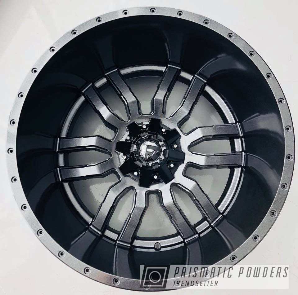 Powder Coating: Wheels,Automotive,Truck,Fuel,Forged,Metallic Powder Coating,Cadillac Grey PMB-6377,grey,Offroad