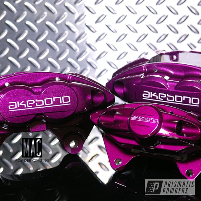Akebono Brake Calipers In Illusion Malbec And Clear Vision ...
