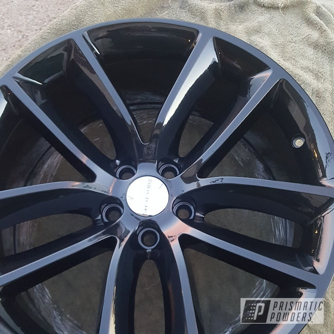 Powder Coating: Wheels,Automotive,Clear Vision PPS-2974,Pearl Black PMB-5347,Dodge,Other